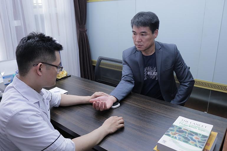Bệnh nhân gout tại Đỗ Minh Đường
