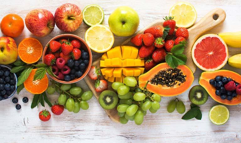 Trái cây tốt cho người bị gout